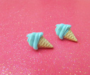 blue, lol, and earrings image
