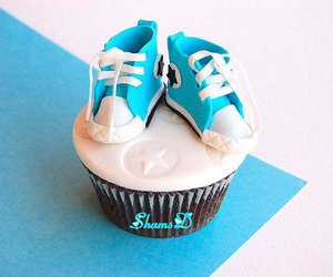 cupcake, converse, and cute image