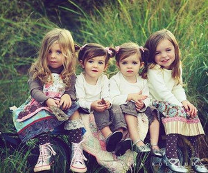 baby, girls, and cute image