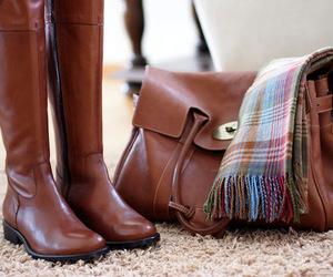 boots, fashion, and bag image