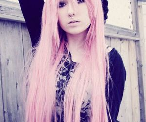emo, pink, and lovely image