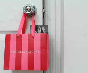 Victoria's Secret, pink, and bag image