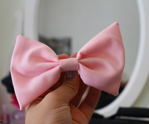pink, bow, and cute image