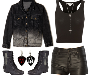 goth, inspiration, and outfit image