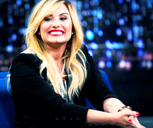 demi lovato, smile, and demi image