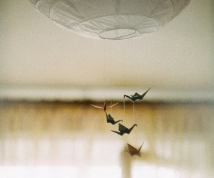 vintage, origami, and photography image