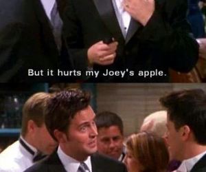 chandler bing, funny, and hilarious image