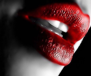beso, rojos, and sensuales image