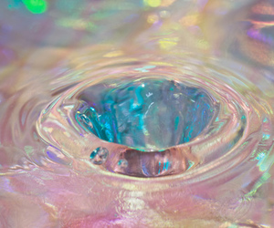 water, grunge, and pink image