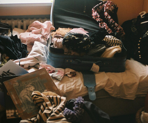 vintage, clothes, and bag image