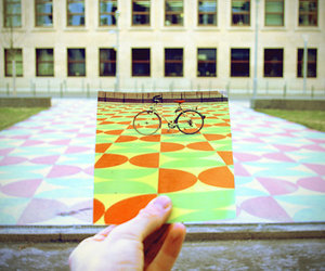 art, bicycle, and photography image