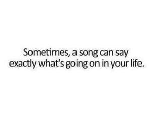 song, life, and quote image