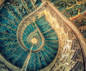 blue, deviantart, and fractal image