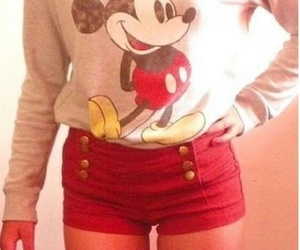 disney, red, and fashion image