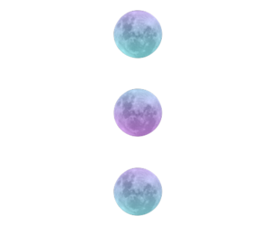 colors, moon, and photography image