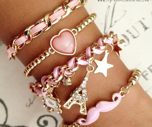 accessories, bracelet, and hand image
