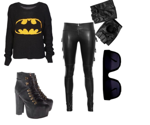 batman, cool, and outfit image