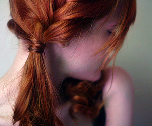 ginger, red hair, and ruiva image