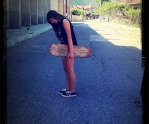 me and my skateboard love image