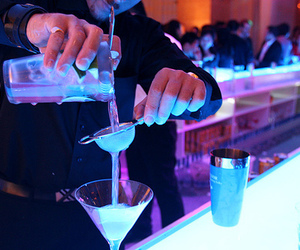 drink and blue image