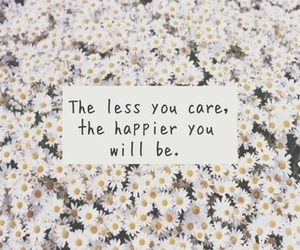 quotes, happy, and flowers image