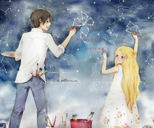 anime, manga, and honey and clover image