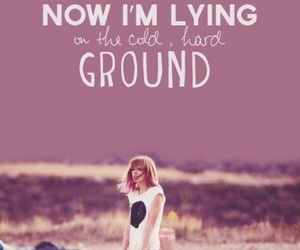 Taylor Swift, i knew you were trouble, and music image