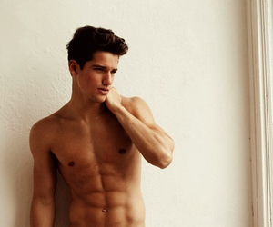 abs, man, and model image