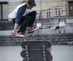 skate, cool, and guy image