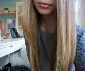 tumblr, hair, and blonde image