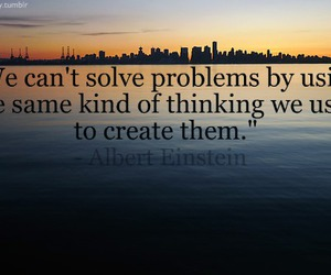 Albert Einstein, quote, and typography image