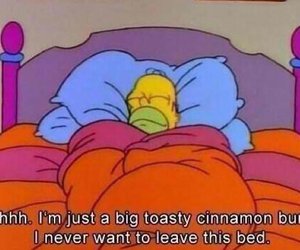 bed, comfy, and funny image