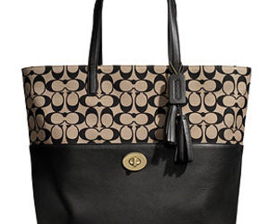 coach, purse, and tote image