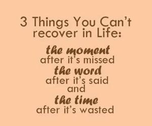 quote, time, and life image