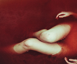 bath, blood, and indie image