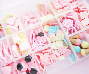 pink, kawaii, and sweet image