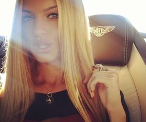 girl, Bentley, and blonde image