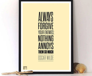 forgive, oscar wilde, and quotes image