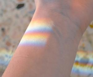 rainbow and الله image