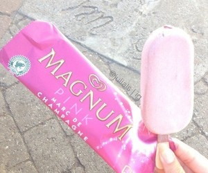 food, Magnum, and girl image