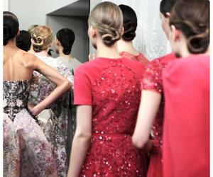 elegance, haute couture, and wow image
