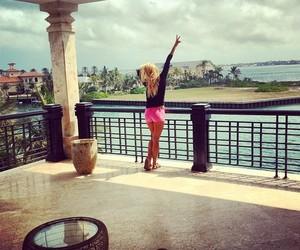 girl, luxury, and paradise image