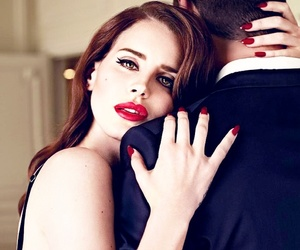 lana, perfection, and red lips image