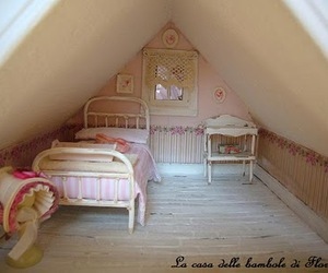 antique, beautiful, and bedroom image