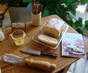 bake, bread, and delicious image