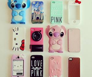 iphone, case, and pink image