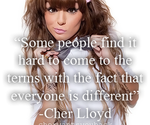 different and cher lloyd image