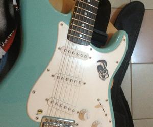 amanda, guitar, and single image