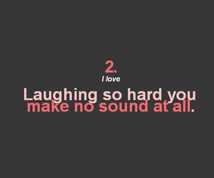laughing, laugh, and love image