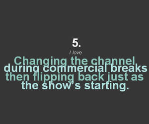 channel, text, and situation image
